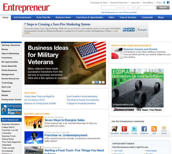 Entrepreneur Media